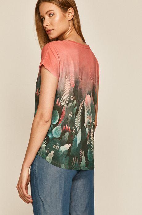 T-shirt damski wzorzysty by Joanna Wójtowicz