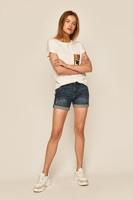 T-shirt damski by Joanna Wójtowicz biały
