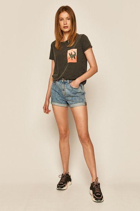 T-shirt damski by Joanna Wójtowicz szary