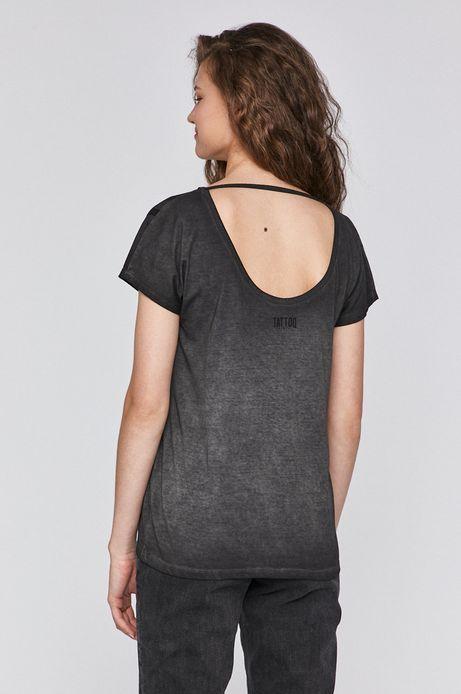 T-shirt damski by Typek, Tattoo Konwent szary