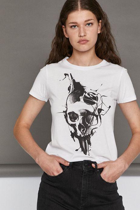 T-shirt damski by Typek, Tattoo Konwent biały