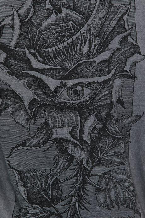 T-shirt damski by Fabian Staniec,Tattoo Konwent szary
