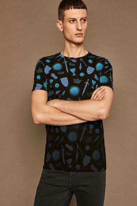 T-shirt męski by Patrycja Podkościelny czarny
