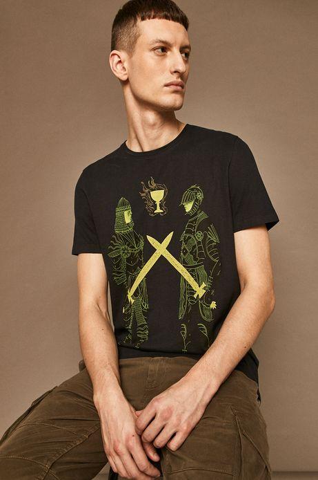 T-shirt męski by Patrycja Podkościelny szary