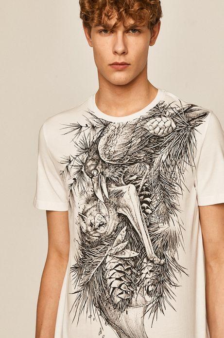 T-shirt męski by Daniel Bacz, Tattoo Konwent biały