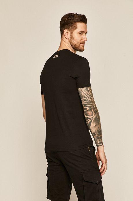 T-shirt męski by Daniel Bacz, Tattoo Konwent czarny