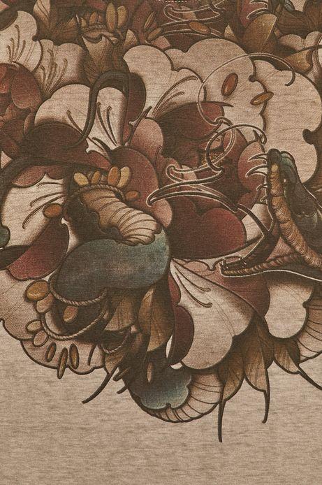 T-shirt męski by Karolina Wilczewska, Tattoo Konwent szary