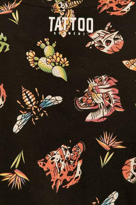 T-shirt męski by Gruby Kruk, Tattoo Konwent czarny