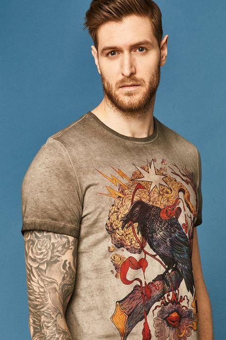 T-shirt męski by Damian Dideńko szary