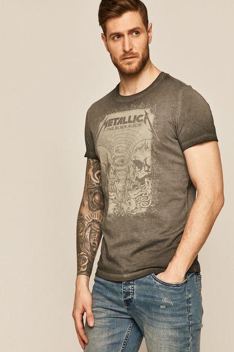 T-shirt męski Music Licence czarny