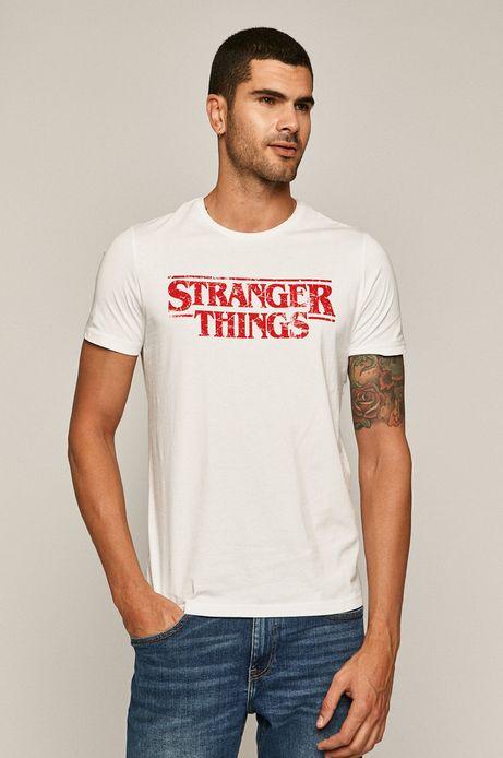 T-shirt męski Licence Mix biały