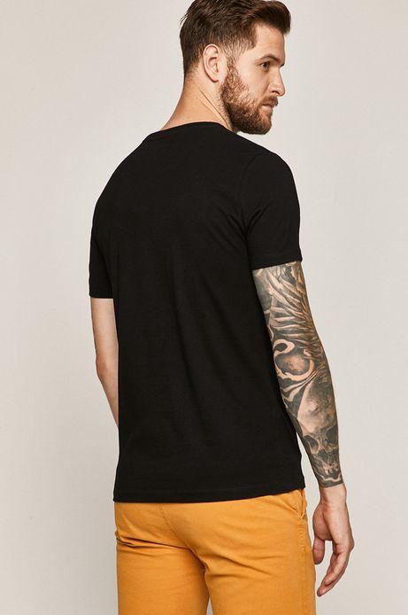T-shirt męski Retro Holidays czarny