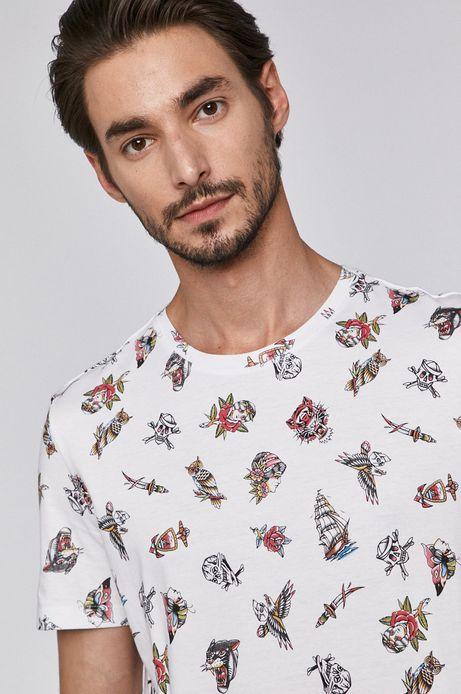 T-shirt męski by Gruby Kruk, Tattoo Konwent biały