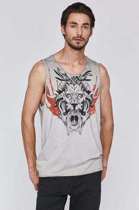 T-shirt męski by Michał Borysz, Tattoo Konwent szary