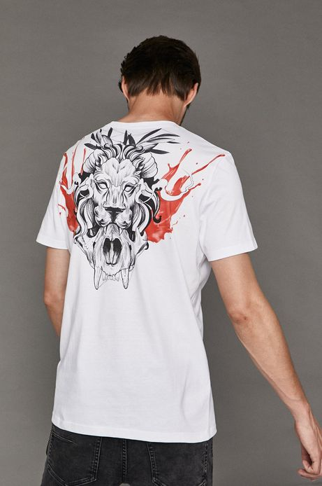 T-shirt męski by Michał Borysz, Tattoo Konwent biały