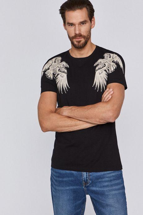 T-shirt męski by Agata Wiwczarek, Tattoo Konwent czarny