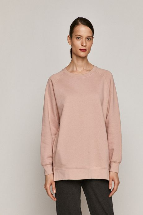 Bluza damska różowa