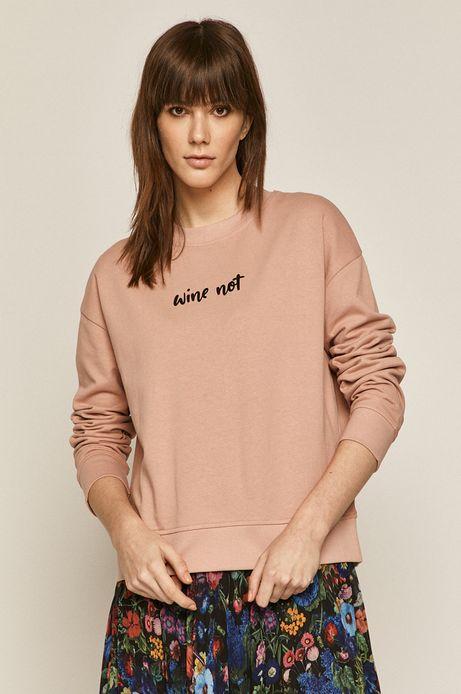 Bluza damska z napisem różowa