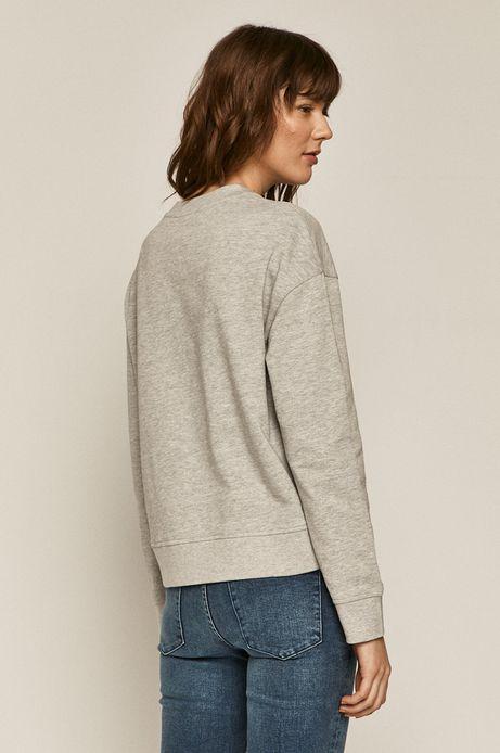 Bluza damska z napisem szara