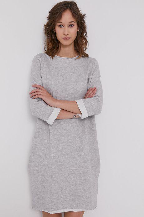 Długa bluza oversize damska