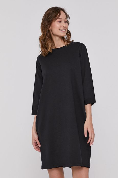 Długa bluza oversize czarna