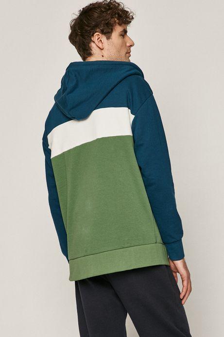 Bluza męska w bloki kolorów