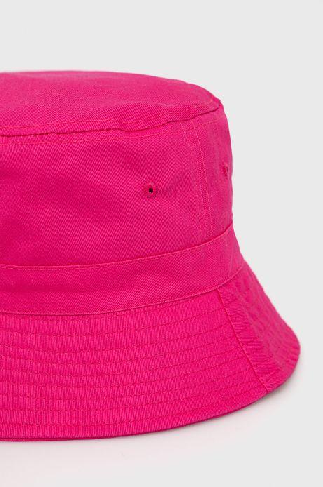 Bawełniany kapelusz damski różowy
