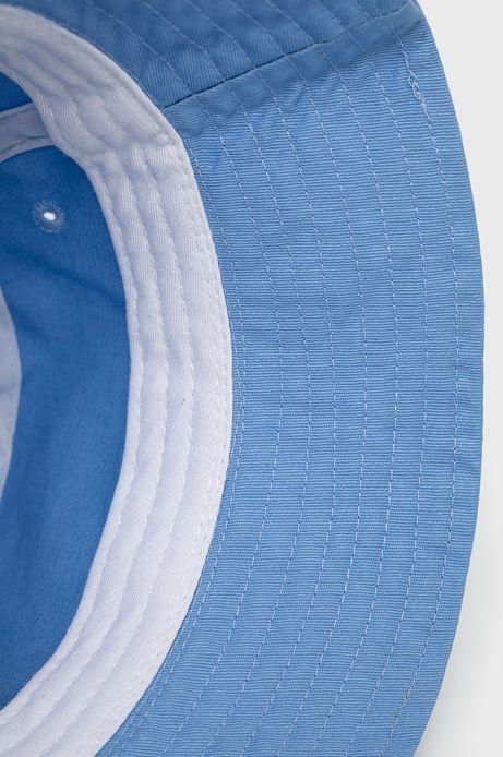 Bawełniany kapelusz damski niebieski