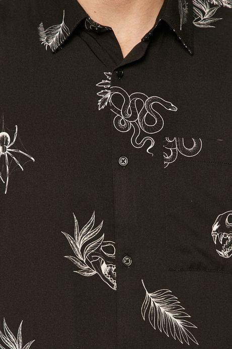 Koszula męska by Ola Płocidem, Tattoo Art czarna