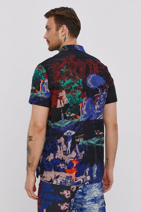 Bawełniana koszula męska z krótkim rękawem