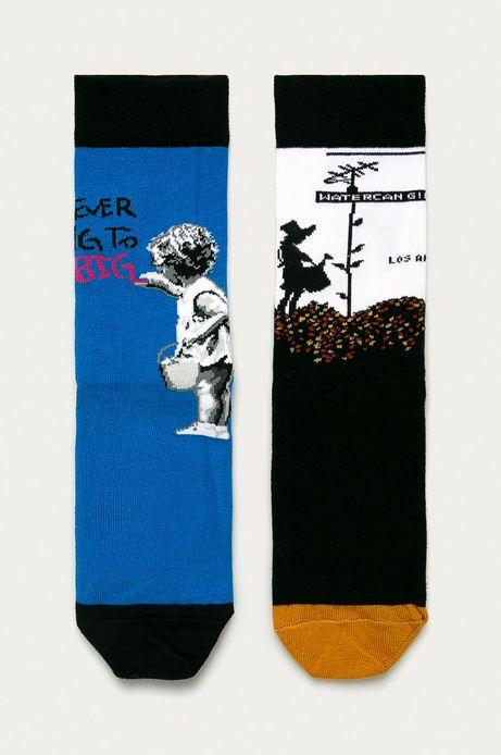 Skarpetki damskie Banksy's Graffiti (2-PACK)