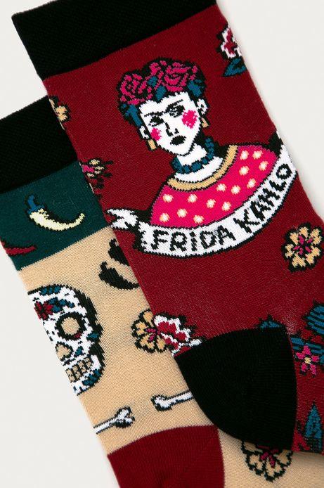 Skarpetki damskie Frida Kahlo (2-PACK)