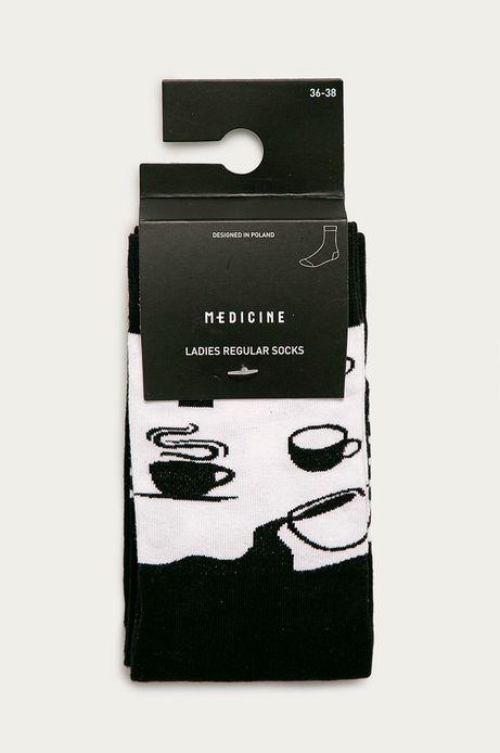 Skarpetki damskie kawa (2-pack)