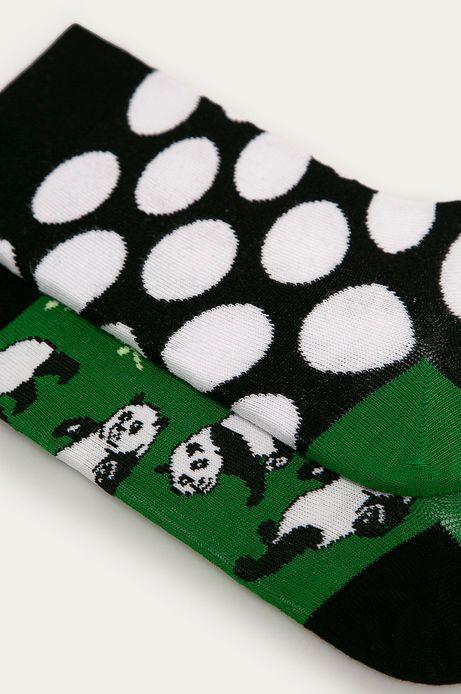 Skarpetki damskie w pandy (2-pack)