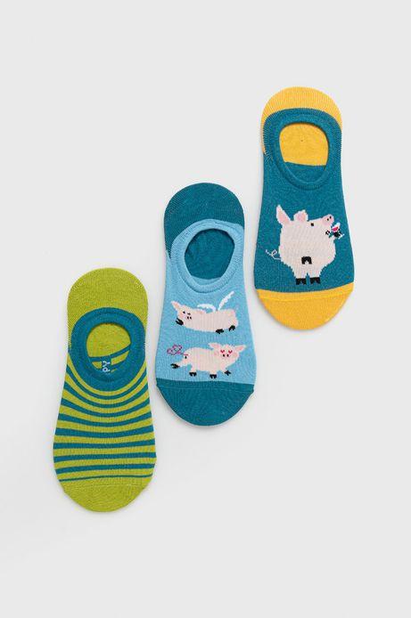 Stopki damskie w świnki (3-pack)