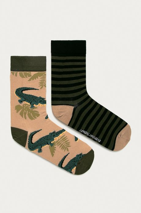 Skarpetki męskie w krokodyle (2-PACK)