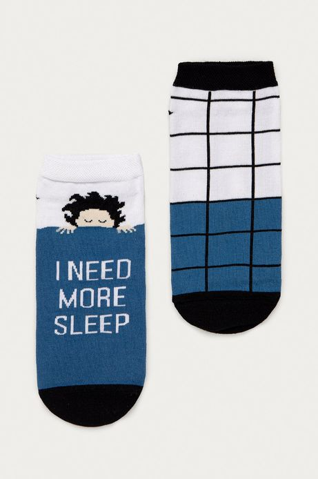 Skarpetki męskie I need more sleep (2-pack)