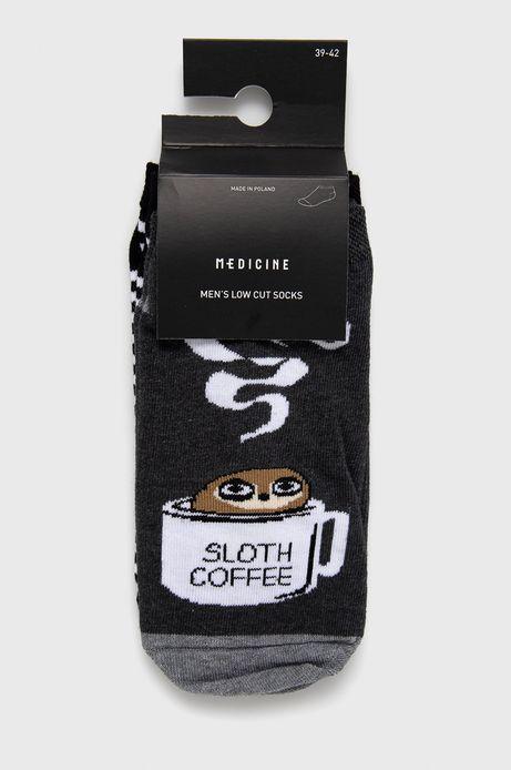 Skarpetki męskie leniwa kawa (2-PACK)