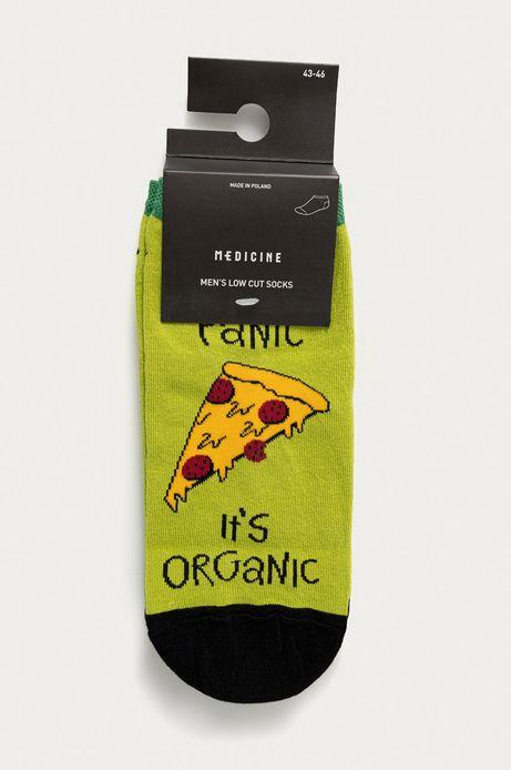 Skarpetki męskie pizza  (2-pack)