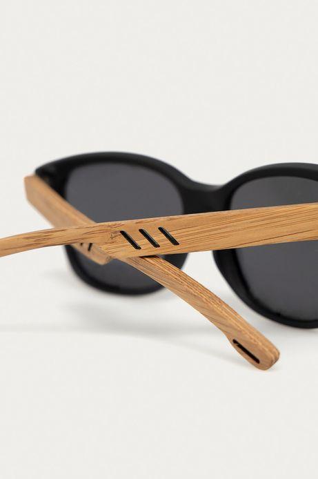 Okulary przeciwsłoneczne damskie z polaryzacją oraz zausznikami z funkcją flexible czarne