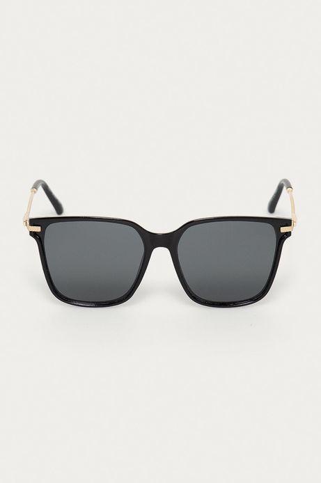 Okulary przeciwsłoneczne damskie z polaryzacją czarne