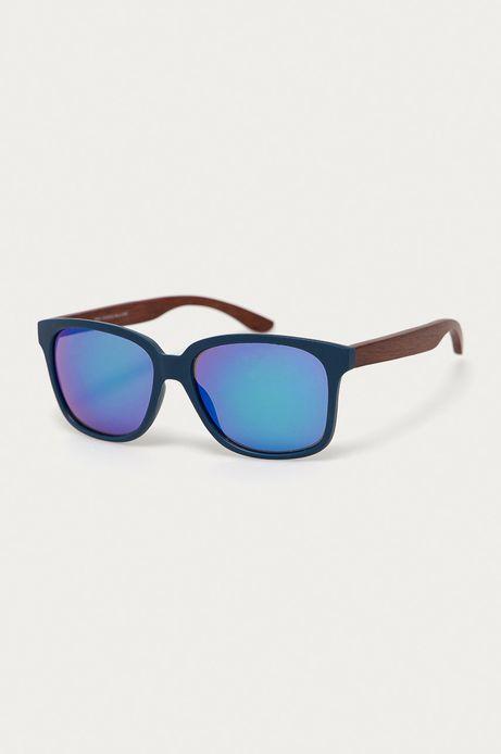 Okulary przeciwsłoneczne męskie z zausznikami z funkcją flexible