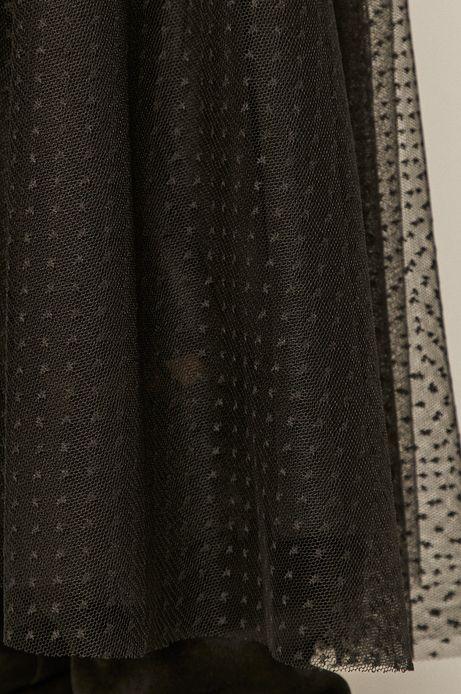 Spódnica damska tiulowa czarna
