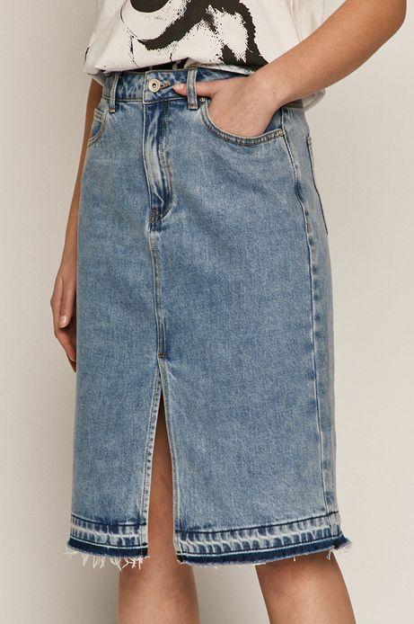 Spódnica jeansowa damska niebieska