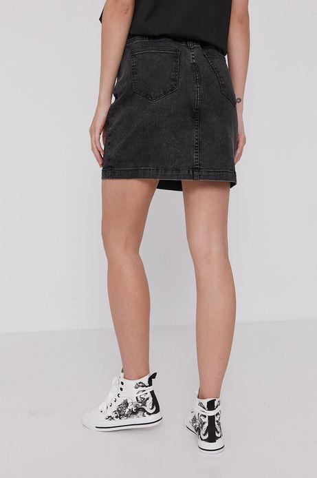 Spódnica jeansowa damska czarna