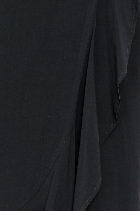 Spódnica damska z falbankami czarna