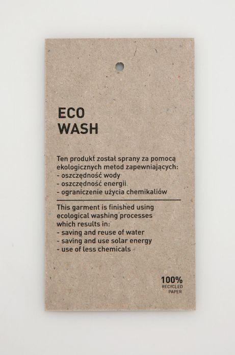 Jeansy damskie skinny eco wash niebieskie