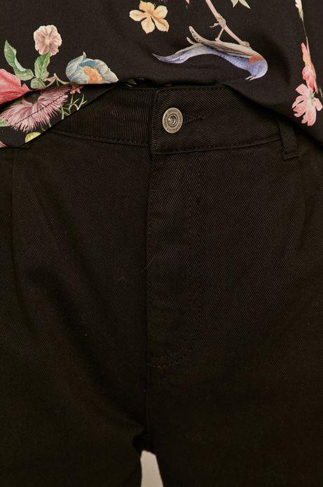 Spodnie damskie slouchy czarne