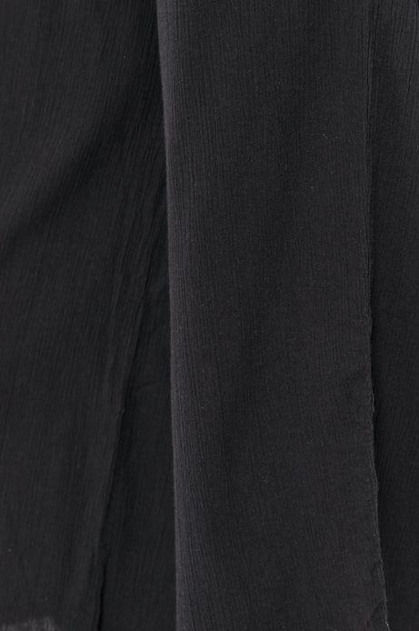 Spodnie damskie culottes czarne