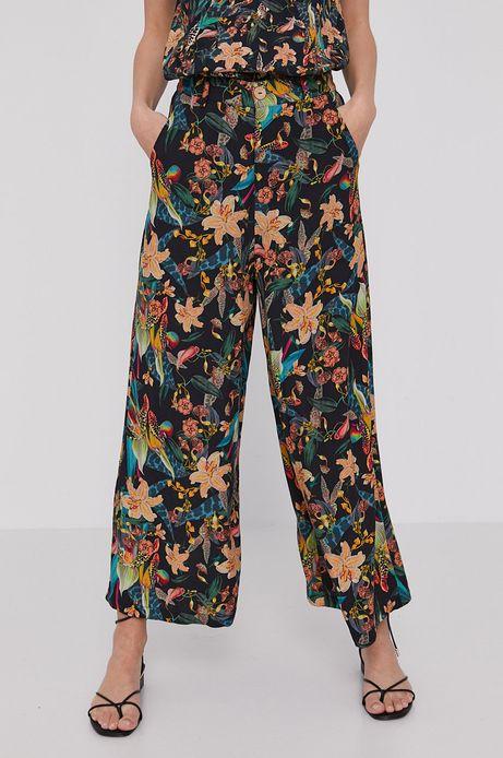 Spodnie damskie culottes z wiskozy